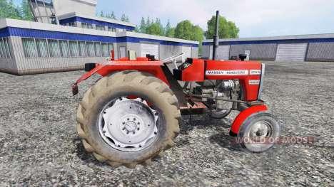 Massey Ferguson 255 [without cabin] para Farming Simulator 2015