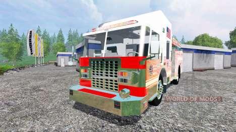 U.S Fire Truck v2.0 para Farming Simulator 2015