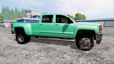 Chevrolet Silverado 2015 para Farming Simulator 2015