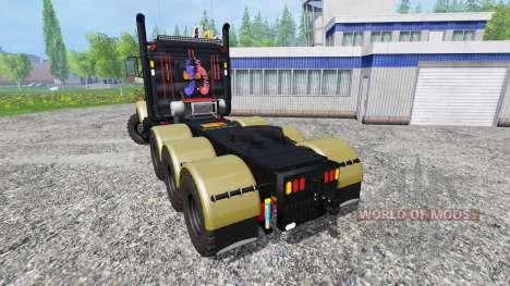 Kenworth T800 v1.2 para Farming Simulator 2015