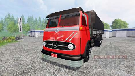 Mercedes-Benz LP 321 para Farming Simulator 2015