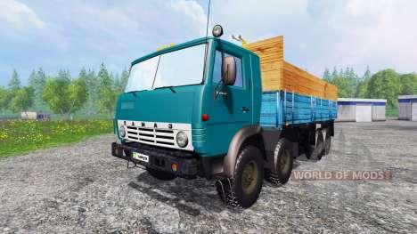 KamAZ-6530 v2.6 para Farming Simulator 2015
