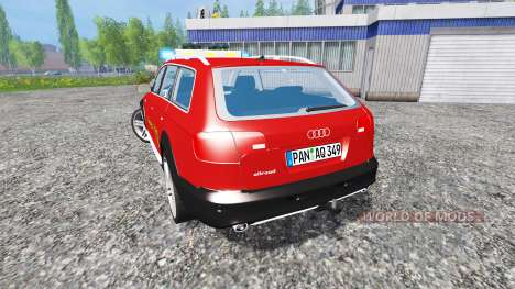 Audi A6 (C6) Avant [feuerwehr] para Farming Simulator 2015