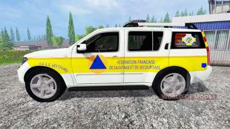 Nissan Pathfinder FFSS para Farming Simulator 2015