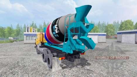KamAZ 55102 [blender] para Farming Simulator 2015