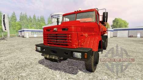 El KrAZ-65053 para Farming Simulator 2015