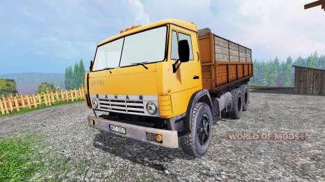 KamAZ-55102 v1.1 para Farming Simulator 2015