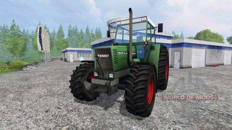 Fendt Favorit 614 LSA Turbomatik v1.1 para Farming Simulator 2015