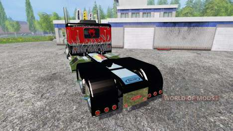 Peterbilt 379 [murderklok edition] para Farming Simulator 2015