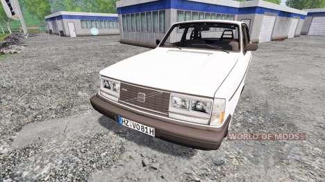 Volvo 242 Turbo para Farming Simulator 2015