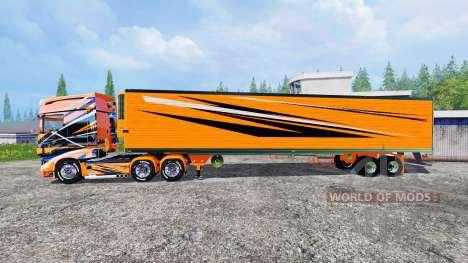 Scania R700 [toprun] para Farming Simulator 2015