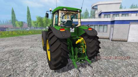 John Deere 8520 [washable] para Farming Simulator 2015