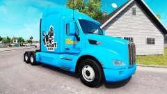 Pulp Fiction de la piel para el camión Peterbilt para American Truck Simulator