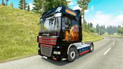 Depredador de la piel para DAF camión para Euro Truck Simulator 2