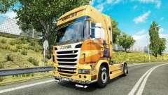 Rijke Tata de la piel para Scania camión para Euro Truck Simulator 2