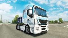 La piel Klanatrans v2.0 tractor Iveco para Euro Truck Simulator 2