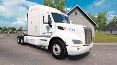 Estados UNIDOS Camión de la piel para el camión Peterbilt para American Truck Simulator