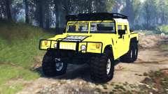 Hummer H1 6x6 Raptor v3.0 para Spin Tires