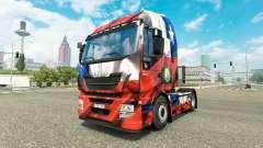El Chile de Copa 2014 de la piel para Iveco tractora para Euro Truck Simulator 2