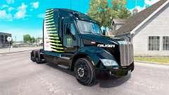 El Monstruo de la Energía Falken piel para el camión Peterbilt para American Truck Simulator