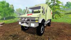 Mercedes-Benz Unimog U2150 (437) Medical v1.1