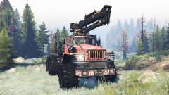 Ural-4320 Polar Explorer v9.0 para Spin Tires