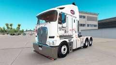 La piel de Zombie Hunter v2.0 tractor Kenworth K200 para American Truck Simulator