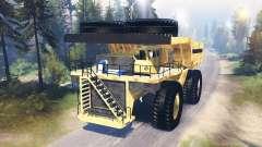 Camión de minería de datos Godzilla v3.0 para Spin Tires