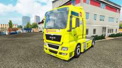 La piel del Arsenal para el tractor HOMBRE para Euro Truck Simulator 2