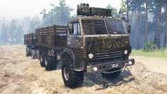 KamAZ-4310 [militar] v2.0 para Spin Tires