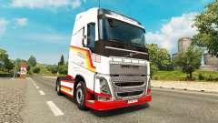 Vintage de piel para camiones Volvo para Euro Truck Simulator 2