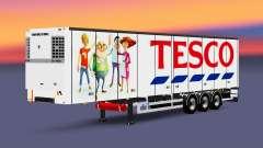 Una colección de trailers con diferentes cargas v2.7 para Euro Truck Simulator 2