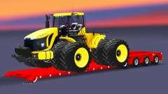 Bajo la cama de arrastre de la Muñeca con la carga del tractor para Euro Truck Simulator 2