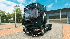 El espacio de la Escena de la piel para Scania camión para Euro Truck Simulator 2