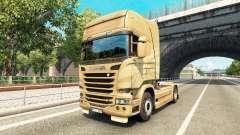 La piel en el 50 Aniversario del tractor Scania para Euro Truck Simulator 2