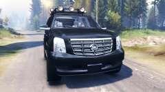 Cadillac Escalade v2.0 para Spin Tires