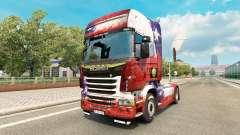 El Chile de Copa 2014 de la piel para Scania camión para Euro Truck Simulator 2