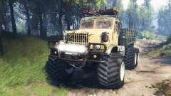 KrAZ-255 [pieza de hierro] v3.0 para Spin Tires