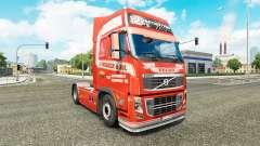 S. Verbeek de la piel para camiones Volvo para Euro Truck Simulator 2