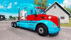 Chico de la familia de la piel para el camión Peterbilt para American Truck Simulator