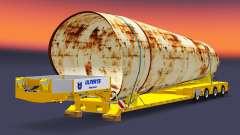 Bajo la cama de arrastre de la Muñeca con la carga para Euro Truck Simulator 2