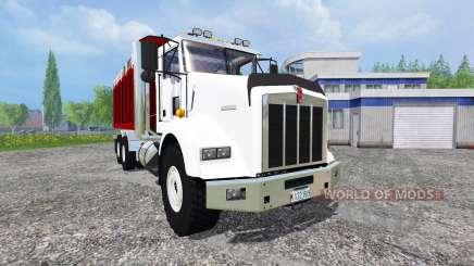 Kenworth T800 [dumper] v2.0 para Farming Simulator 2015