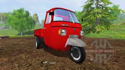 Piaggio Ape P601 UPK para Farming Simulator 2015