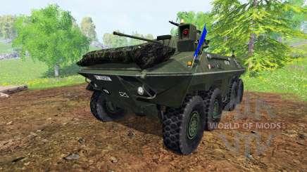 Spahpanzer Luchs para Farming Simulator 2015
