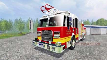 American Firetruck para Farming Simulator 2015
