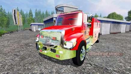 U.S Fire tanker para Farming Simulator 2015