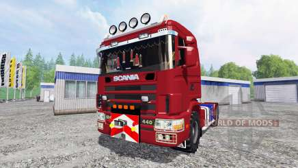 Scania 124L para Farming Simulator 2015