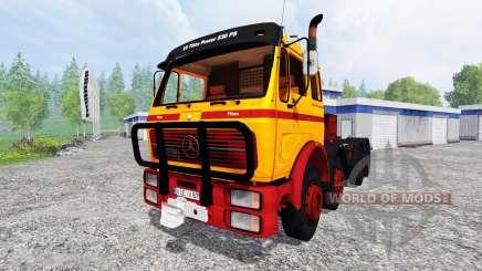 Mercedes-Benz NG 1632 [heavy duty] para Farming Simulator 2015