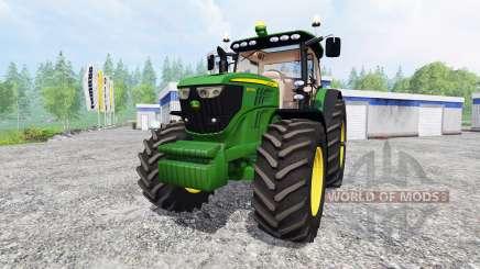 John Deere 6190R para Farming Simulator 2015