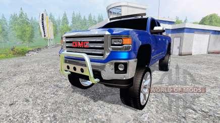 GMC Sierra 1500 2014 [better sounds] para Farming Simulator 2015
